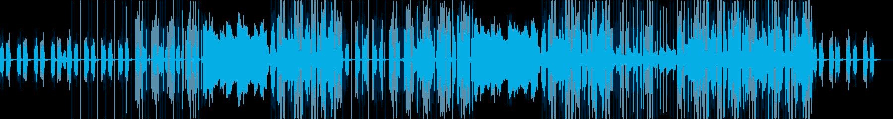 アリアナ風、ポップなトラップBGMの再生済みの波形
