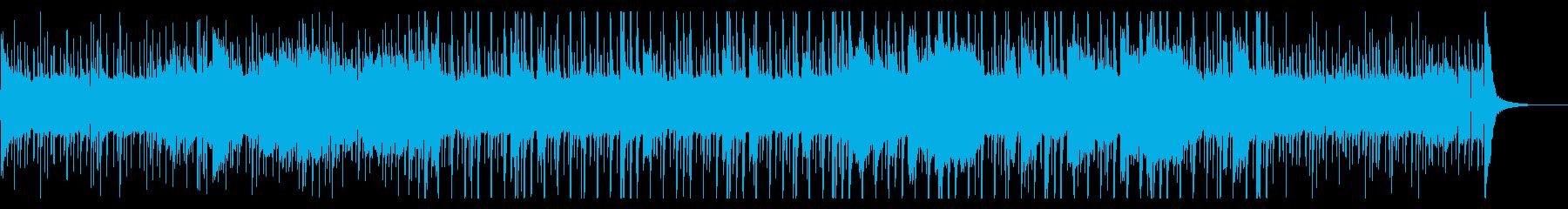 おしゃれなカジュアルジャズの再生済みの波形