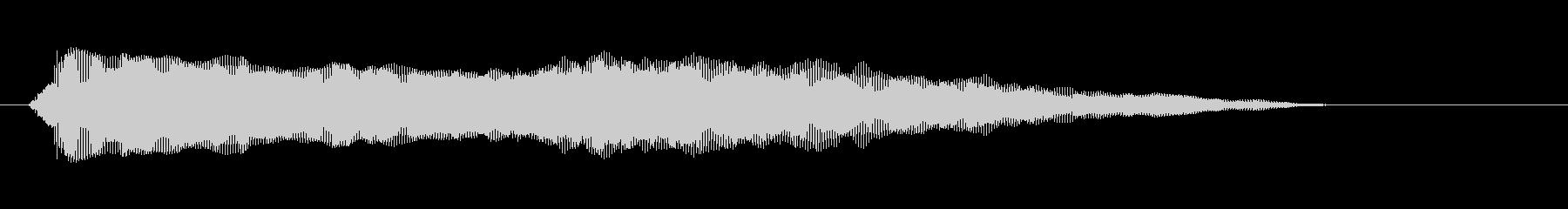 素材 シンセバウンス02の未再生の波形