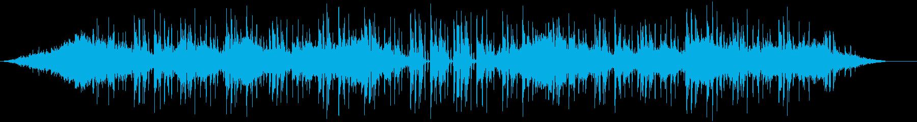 シンセとアコギストロークのみの曲です。の再生済みの波形