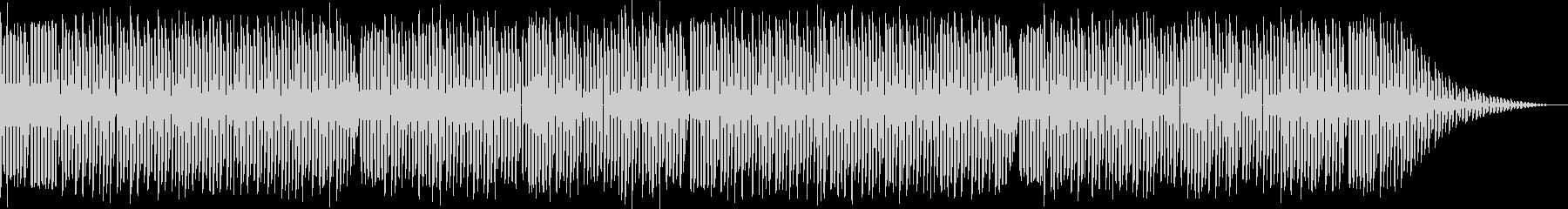 ファミコン風ロックンロールの未再生の波形