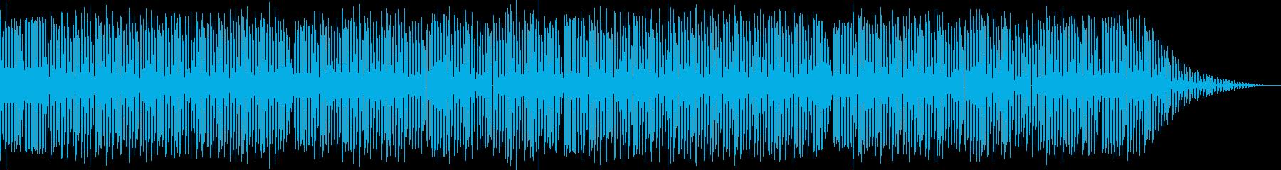 ファミコン風ロックンロールの再生済みの波形