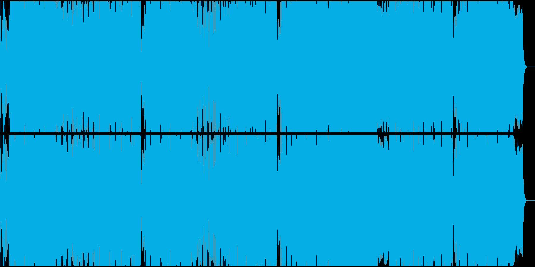 女性ボーカル/テクノポップの再生済みの波形