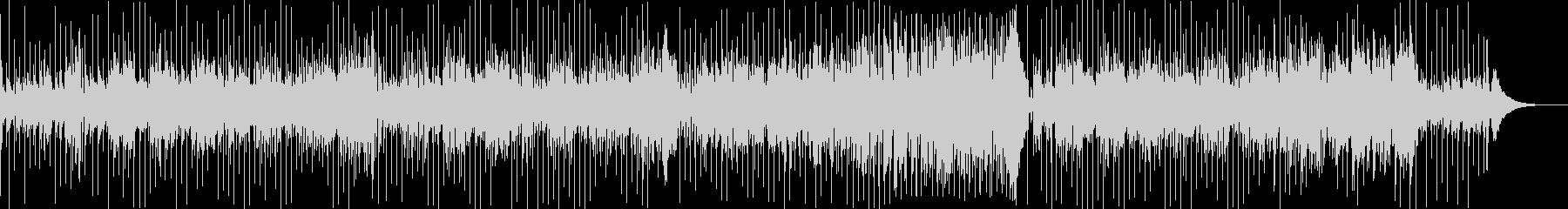 ラテンフィーリングを感じるソロギターの未再生の波形