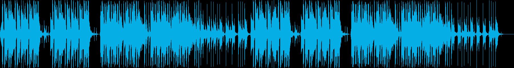 まぬけな日常系BGMの再生済みの波形