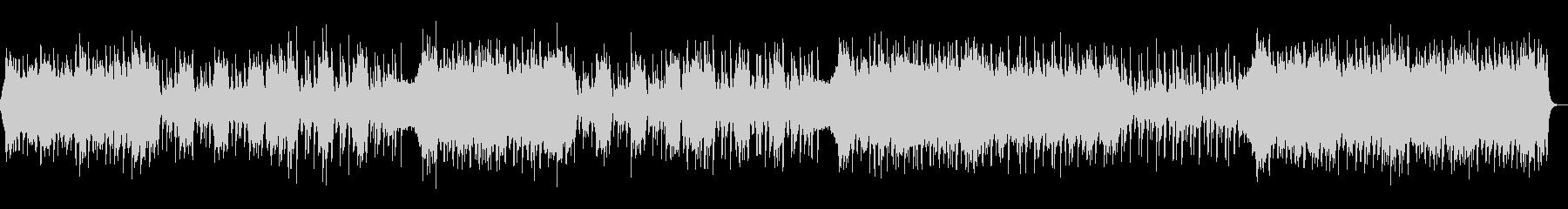 勇壮・エキサイティング・パワフル・ロックの未再生の波形