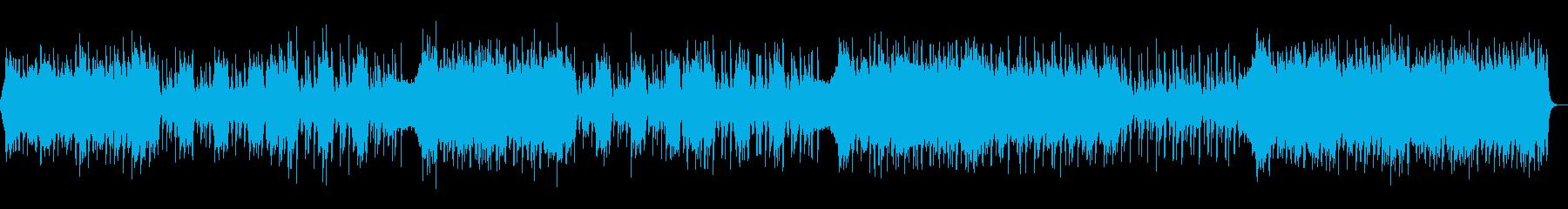 勇壮・エキサイティング・パワフル・ロックの再生済みの波形