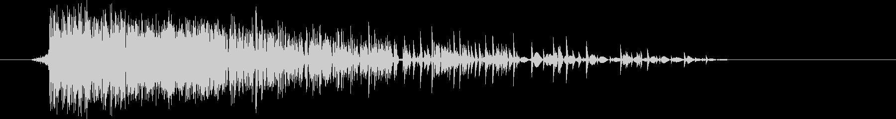 ゲーム(ファミコン風)爆発音_038の未再生の波形