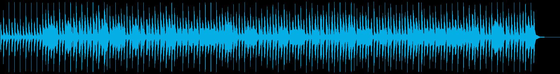 サッカーで有名な曲【脱力系ver.】の再生済みの波形