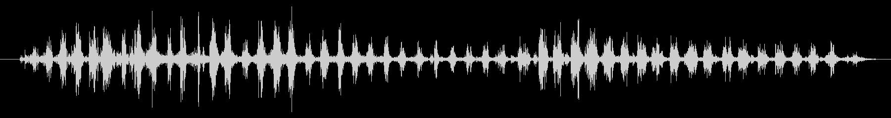 鳴き声の成長、動物の犬の未再生の波形