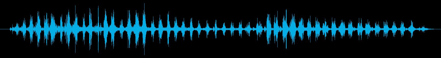 鳴き声の成長、動物の犬の再生済みの波形