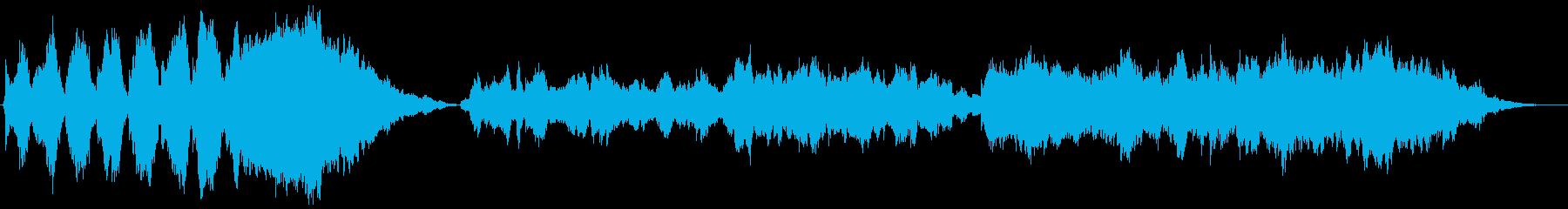 厳かなオーケストラの再生済みの波形