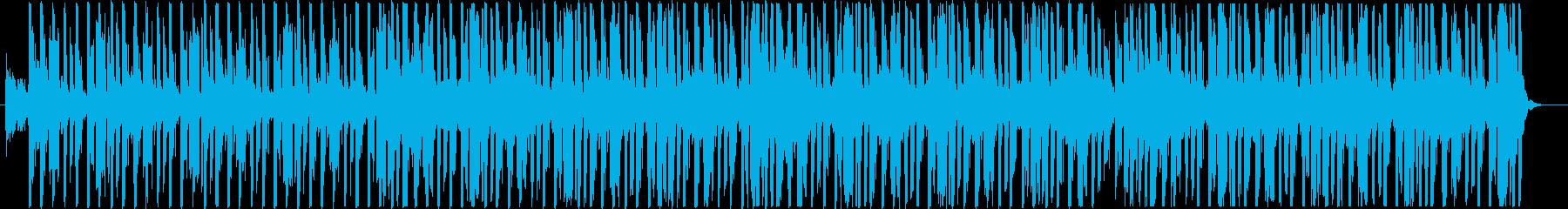 やわらかなイメージの4つ打ちR&Bの再生済みの波形