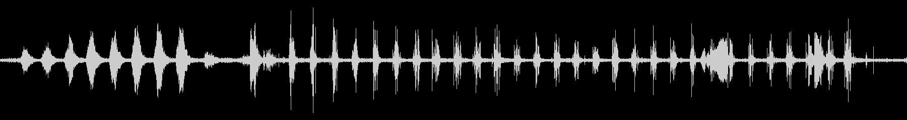 軍隊のマーチカウントラウドマーチングの未再生の波形