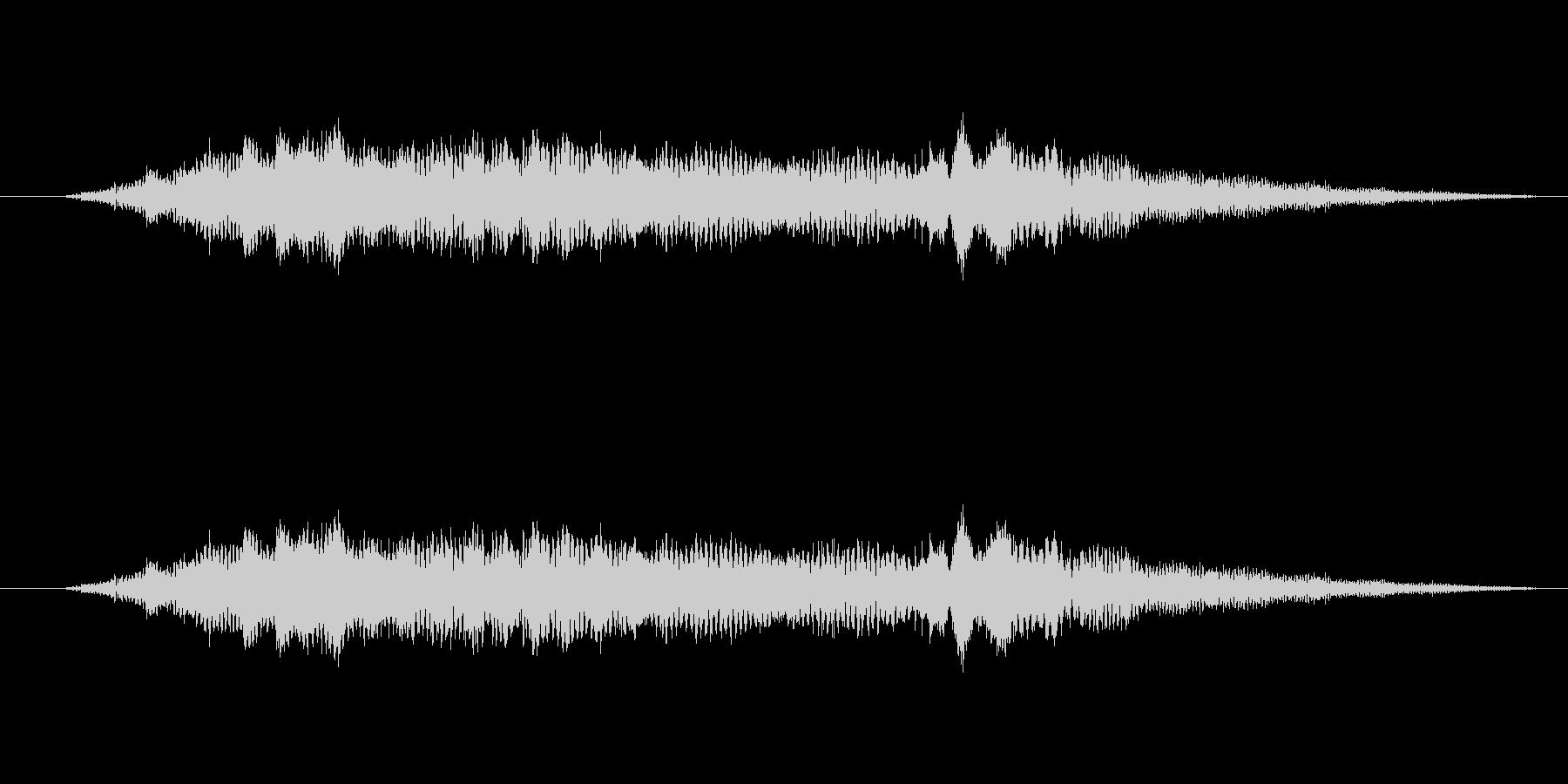 特撮 インターフェース計算01の未再生の波形
