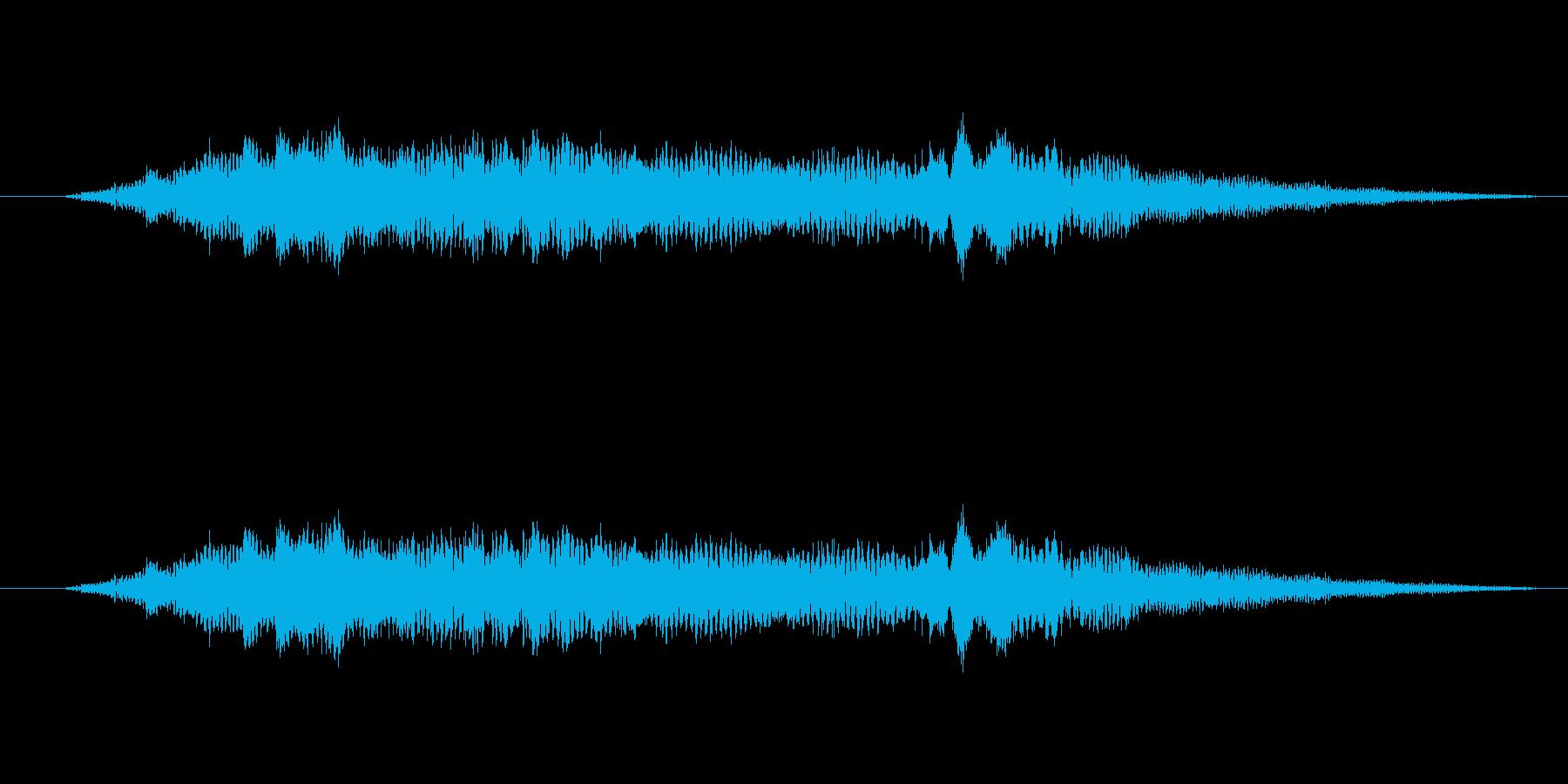 特撮 インターフェース計算01の再生済みの波形