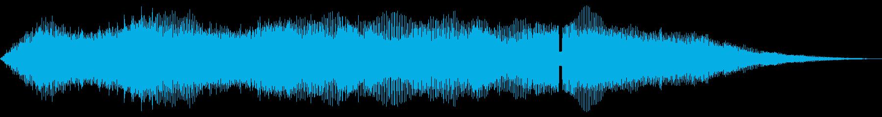 クローズシンセドローン、音楽FX;...の再生済みの波形