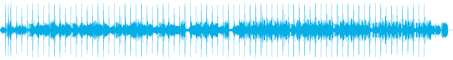 雅楽の名曲「越天楽」の再生済みの波形