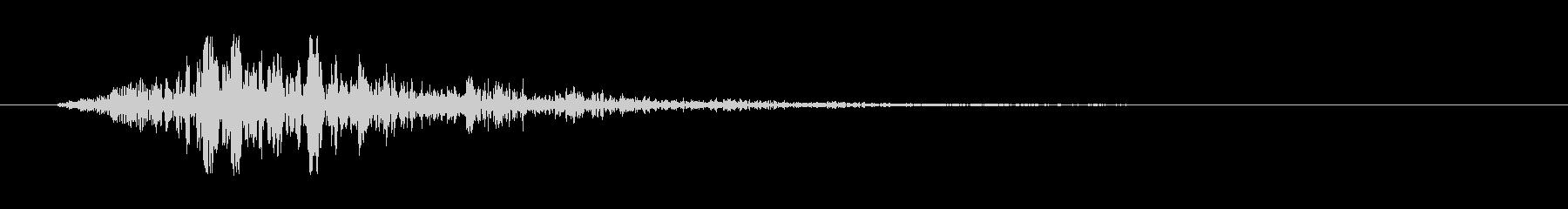 スワイプ.タップ.ページ送り音 04の未再生の波形