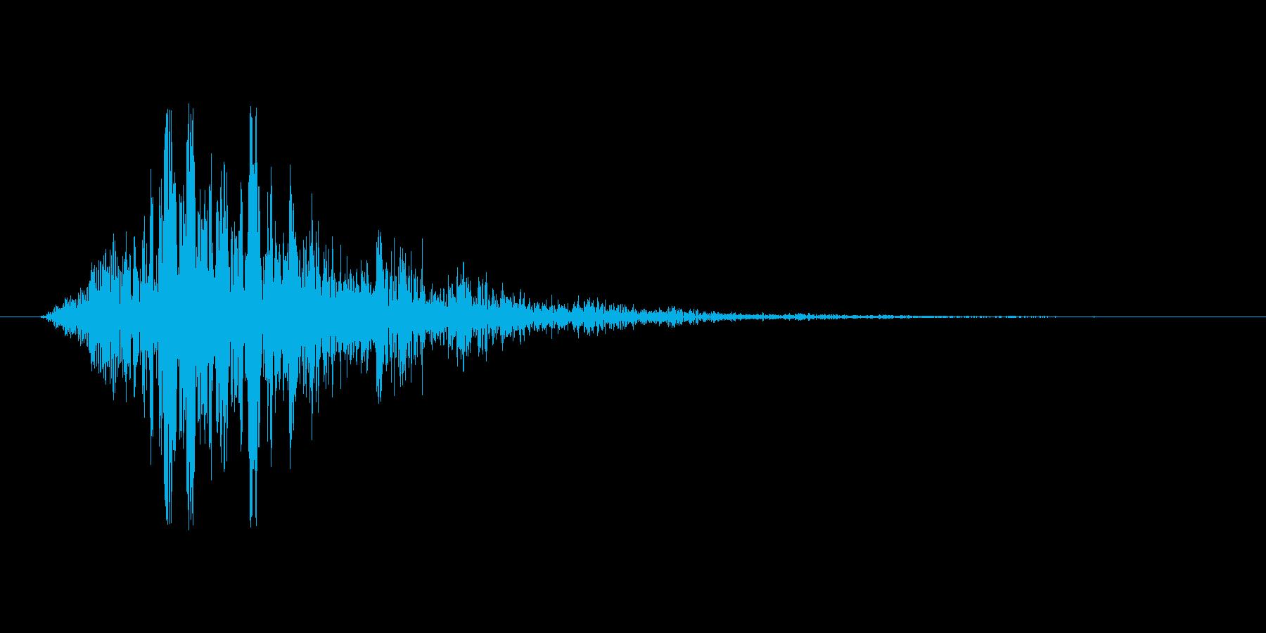 スワイプ.タップ.ページ送り音 04の再生済みの波形