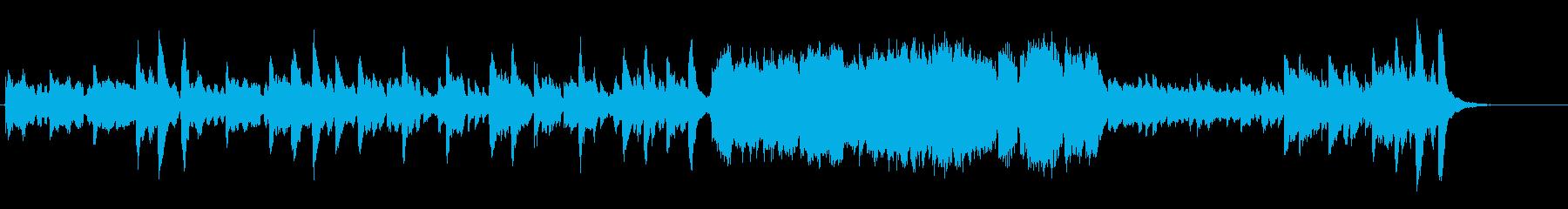 ディズニー風/ゴシックホラーオーケストラの再生済みの波形