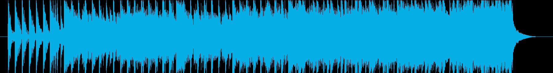 パワフルで疾走感のあるインディーロックの再生済みの波形