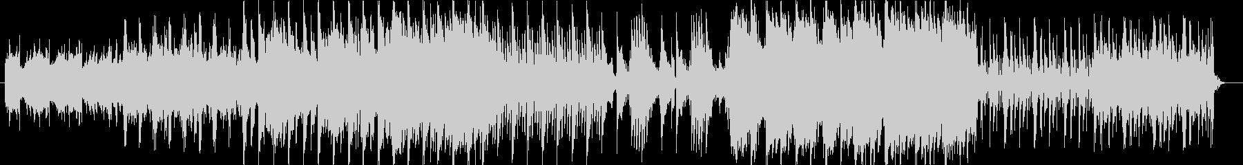 和テイストの幻想的なエレクトロニカの未再生の波形