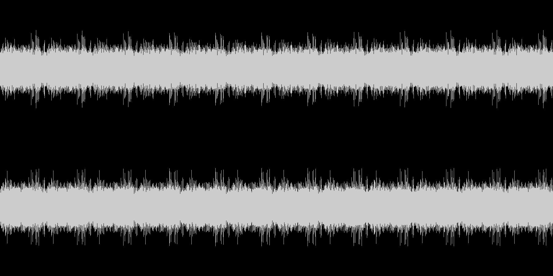 小川の音ループ_バスカットの未再生の波形