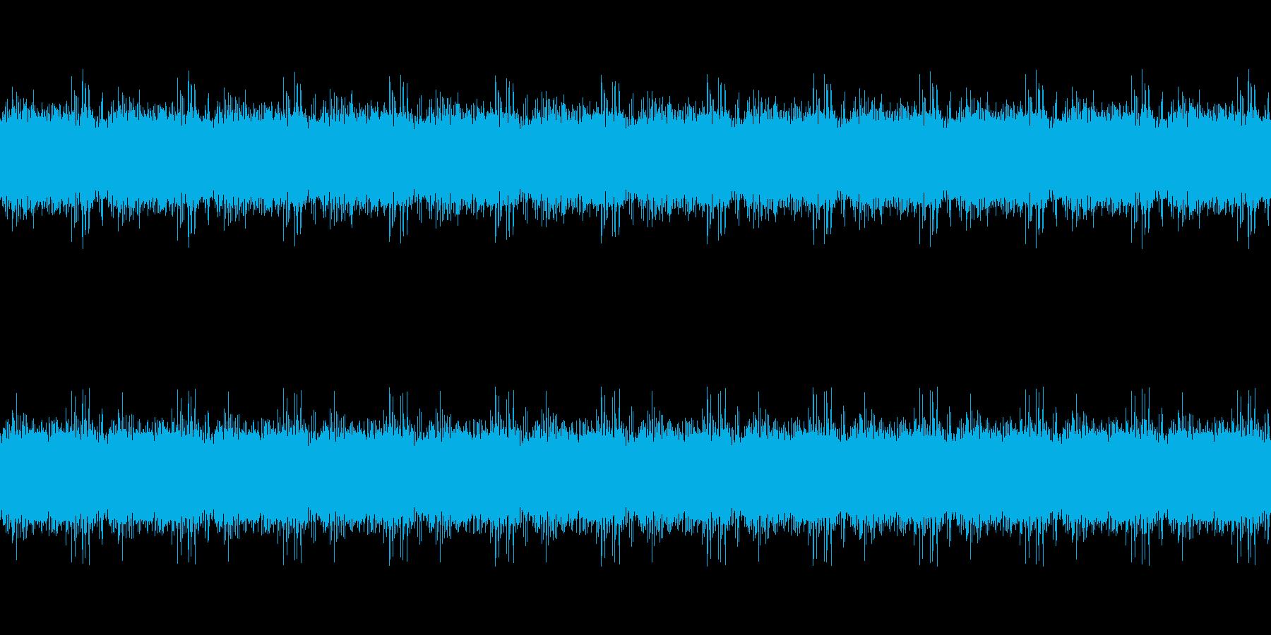 小川の音ループ_バスカットの再生済みの波形