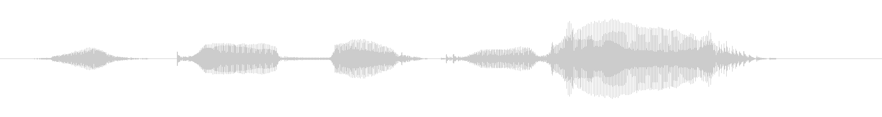 """6-year-old girl """"lucky bag""""-01's unreproduced waveform"""