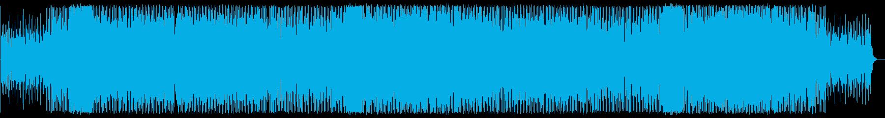 元気いっぱいな行進ソングの再生済みの波形