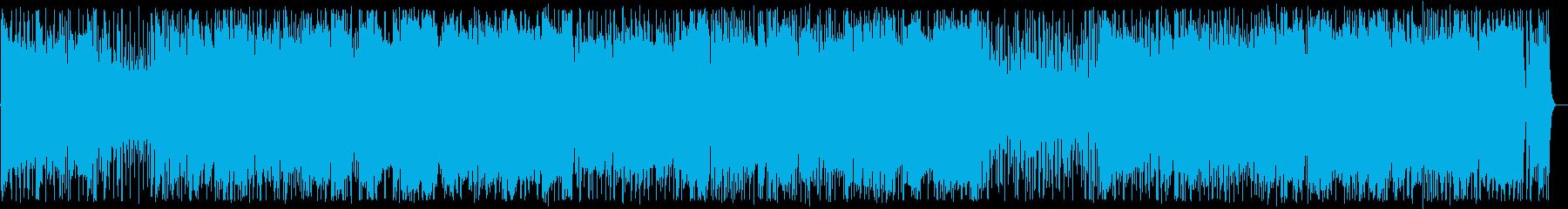 フュージョン・ポップス(別れの時を流す雨の再生済みの波形