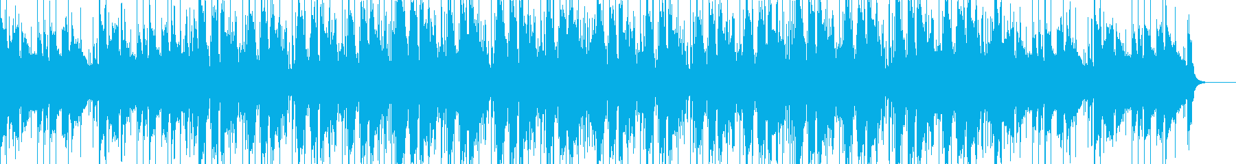 Lo-fi guitar hip hop's reproduced waveform