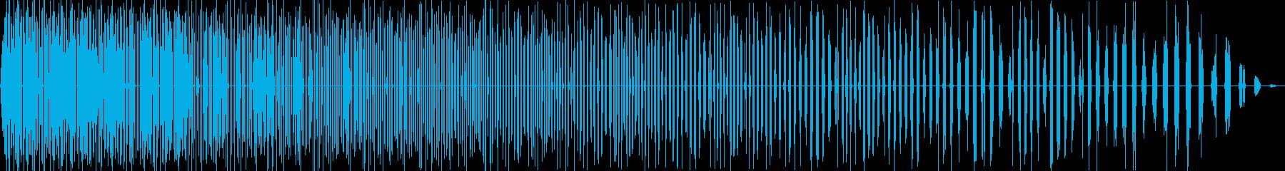 フラタリング解消5の再生済みの波形