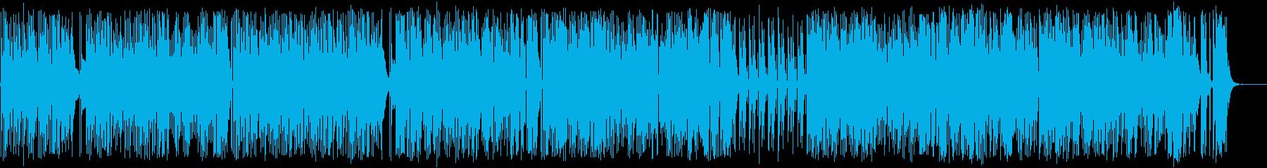 しっとりとしたナイロンギターインストの再生済みの波形