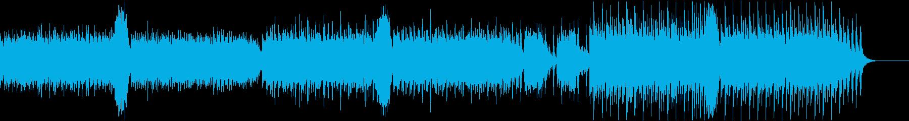 コミカルでかわいいお化けのハロウィン曲の再生済みの波形