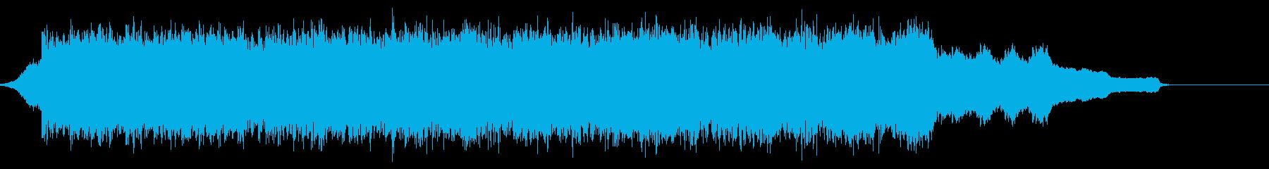 企業VP映像、119オーケストラ、爽快cの再生済みの波形