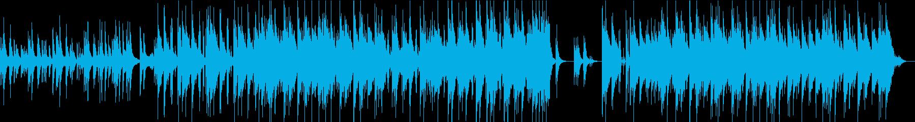ピアノバンド 哀愁のあるインストの再生済みの波形