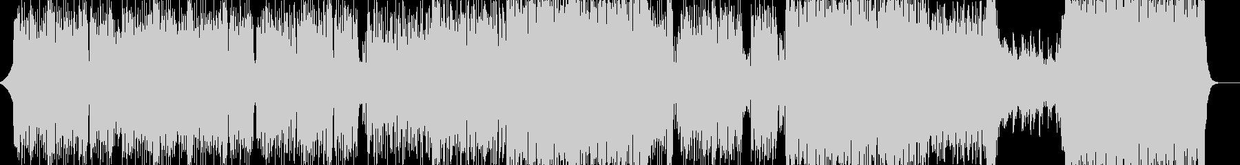 シンセベースの音が心地よいテクノの未再生の波形