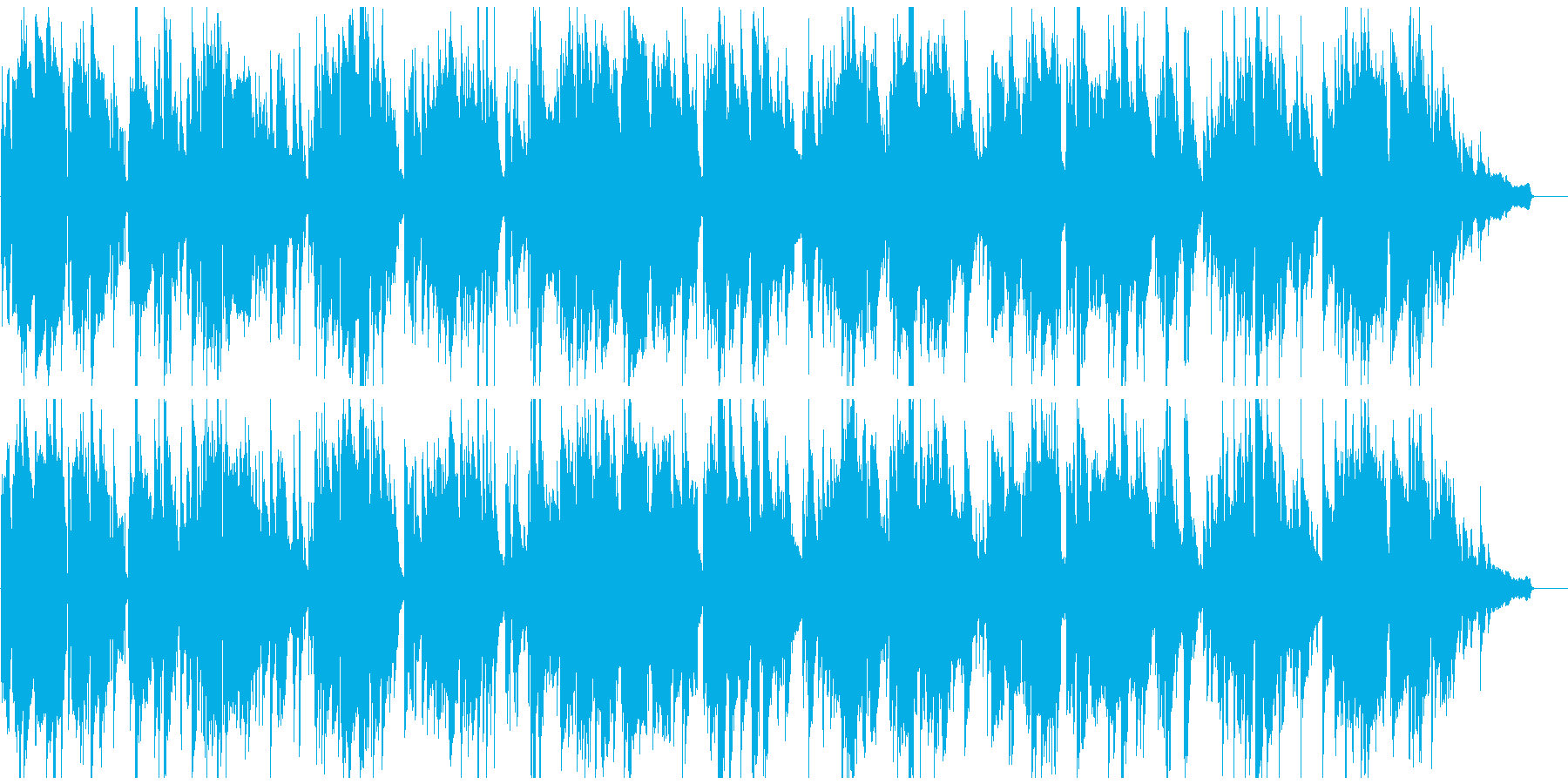 柔らかい幸せな空気感のジャズバラードの再生済みの波形