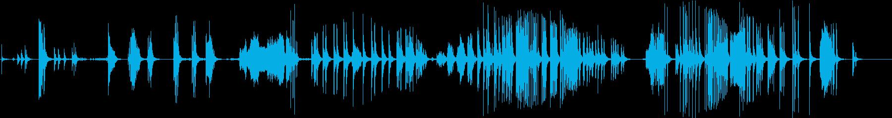 さまざまなスティッキーバルーンラブ...の再生済みの波形