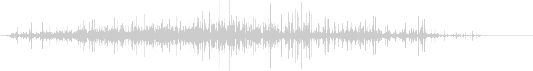 ごろごろガラガラ 瓦礫が崩れる音3の未再生の波形