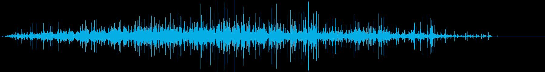 ごろごろガラガラ 瓦礫が崩れる音3の再生済みの波形