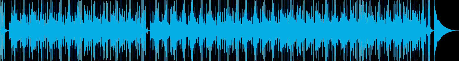 スリンキーでジャジーなラウンジ風の...の再生済みの波形