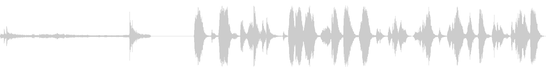 スモールメタルハッチ:ライトヒンジ...の未再生の波形