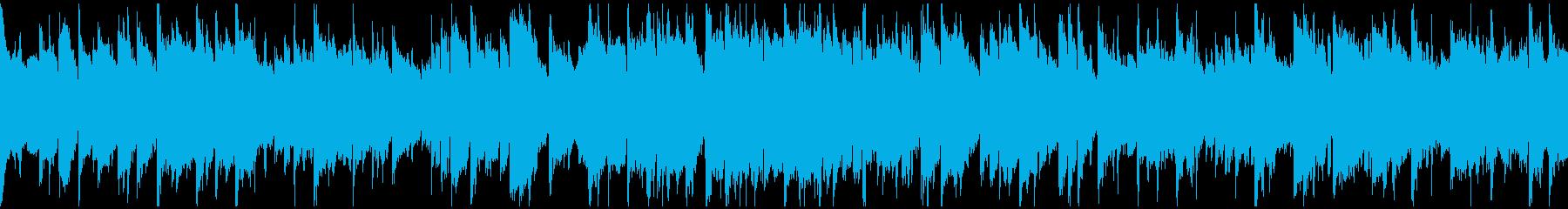 キラキラしたエピローグ的な笛 ※ループ版の再生済みの波形