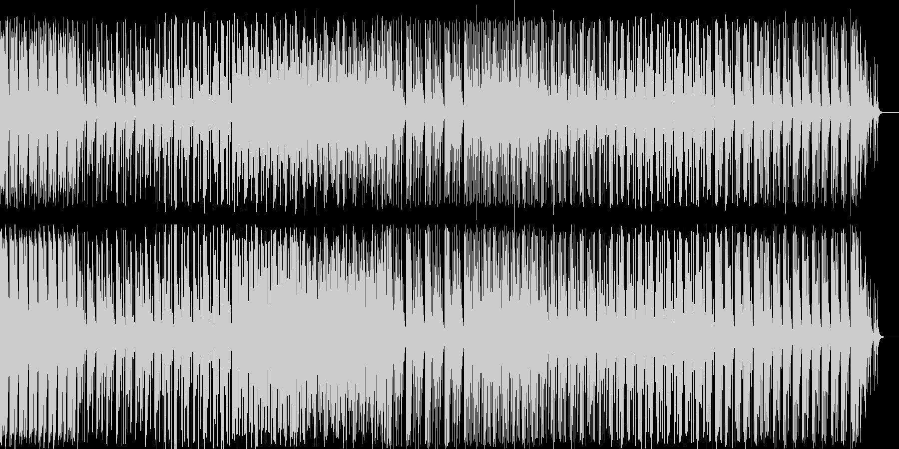 和風料理店に合う琴の音楽2の未再生の波形