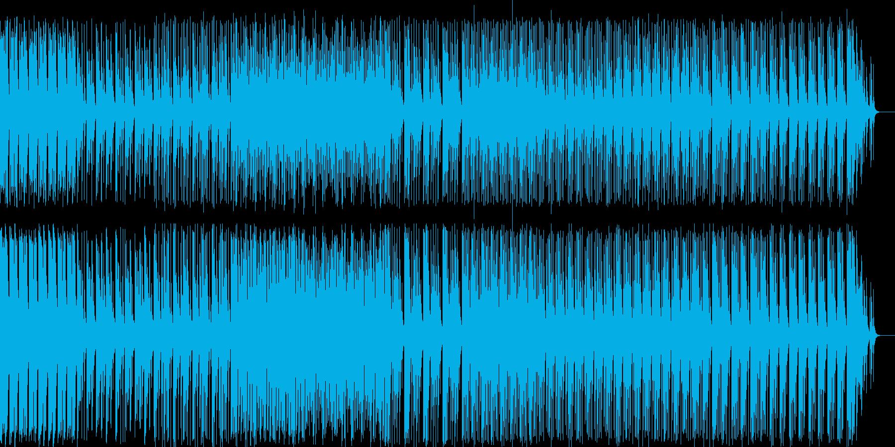 和風料理店に合う琴の音楽2の再生済みの波形
