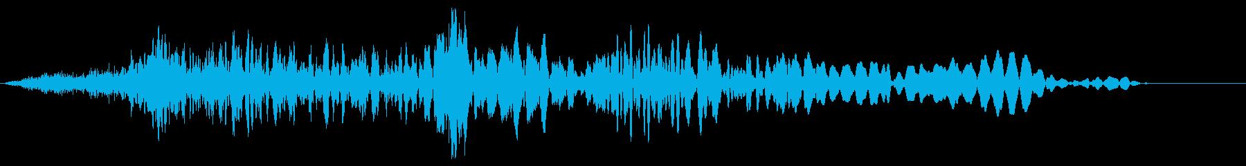 マシンモーフ、変化の影響、シンセシ...の再生済みの波形