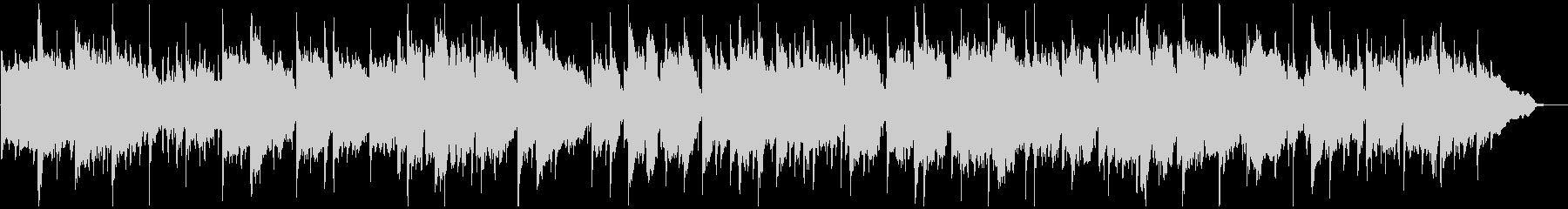 ノスタルジックな笛のリラクゼーション曲の未再生の波形